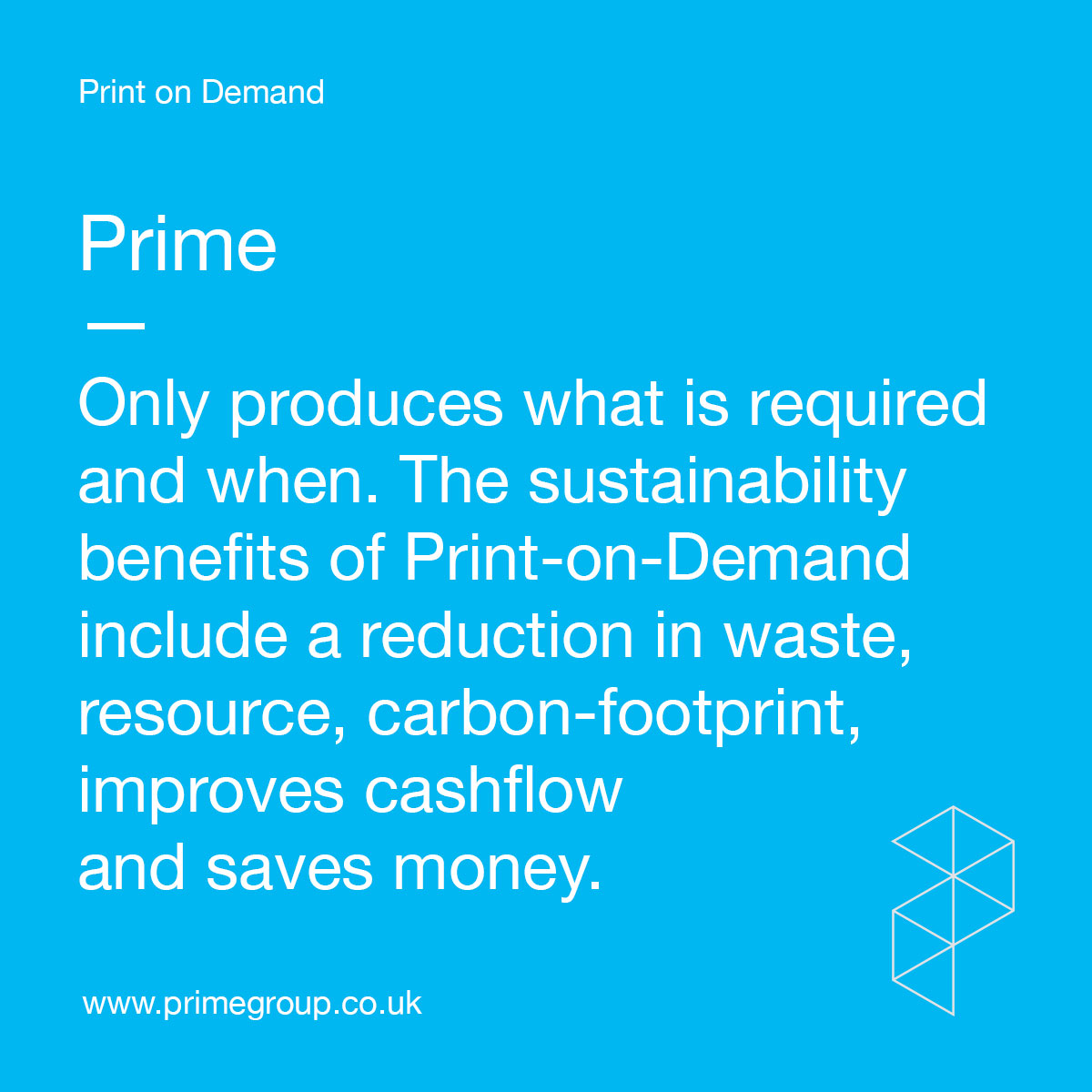 The sustainability benefits of Print-on-Demand